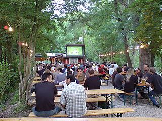 Beergarden Kulper Huette